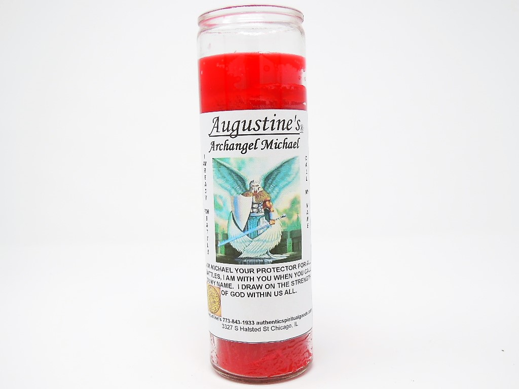 Archangel Michael (Red) Candle