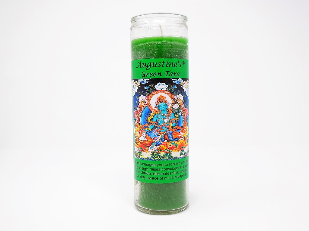 Green Tara Candle